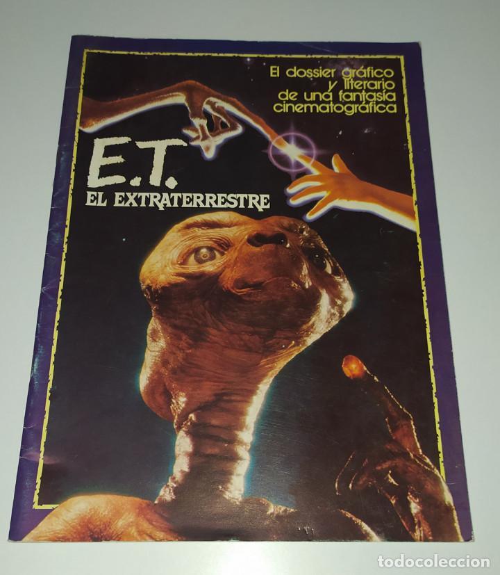 E.T. EL EXTRATERRESTRE - DOSSIER GRAFICO Y LITERARIO (Cine - Guías Publicitarias de Películas )