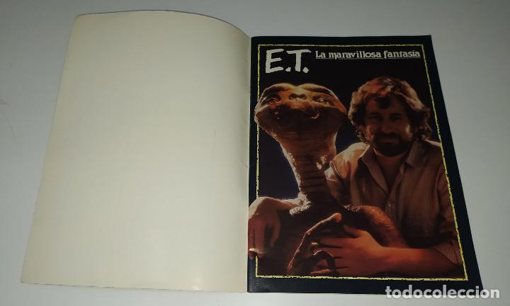 Cine: E.T. EL EXTRATERRESTRE - DOSSIER GRAFICO Y LITERARIO - Foto 2 - 222328296