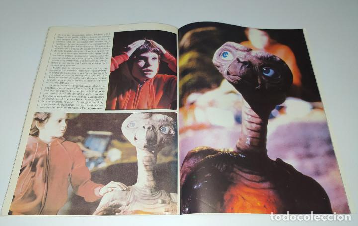 Cine: E.T. EL EXTRATERRESTRE - DOSSIER GRAFICO Y LITERARIO - Foto 4 - 222328296