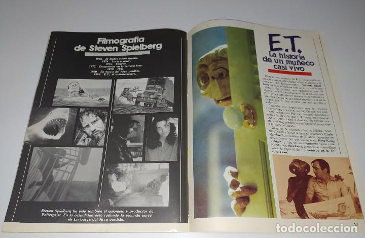 Cine: E.T. EL EXTRATERRESTRE - DOSSIER GRAFICO Y LITERARIO - Foto 8 - 222328296