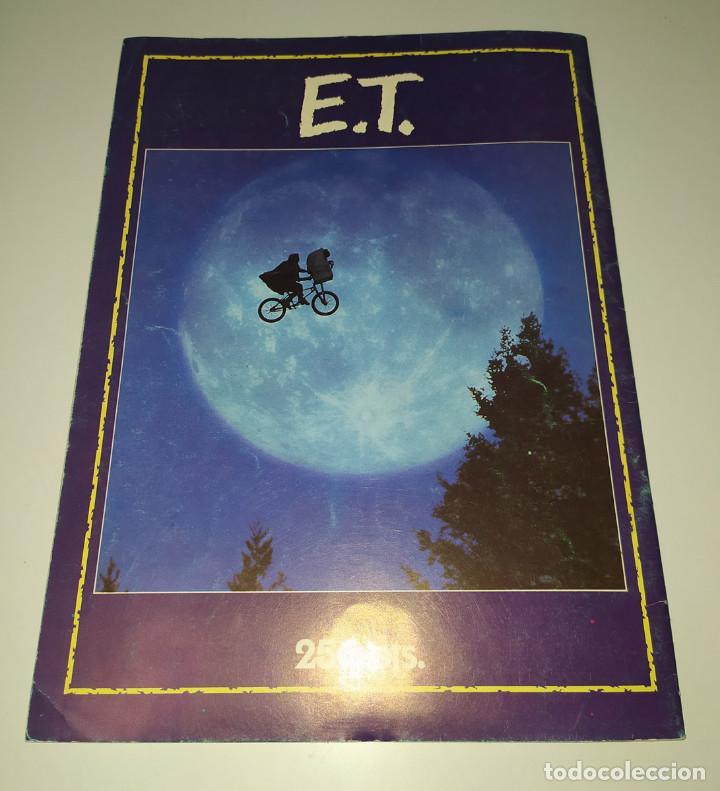 Cine: E.T. EL EXTRATERRESTRE - DOSSIER GRAFICO Y LITERARIO - Foto 10 - 222328296
