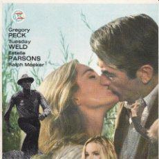 Cinema: YO VIGILO EL CAMINO / GREGORY PECK - 1971. Lote 222560507