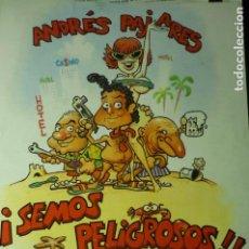 Cine: GUIA SEMOS PELIGROSOS¡¡-ANDRES PAJARES. Lote 222850268