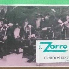 Cine: EL ZORRO Y LOS TRES MOSQUETEROS - GORDON SCOTT - FOTOCROMO GUIA DE CINE - MUY RARO - 24X6 - L 12. Lote 222915255