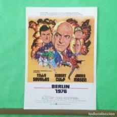 Cine: GUIA DE CINE - BERLIN 1976 - TELLY SAVALAS - 2 PAGINAS - EXCELENTE - L 12. Lote 222918487