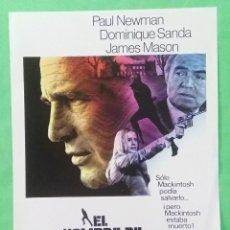 Cine: GUIA DE CINE - EL HOMBRE DE MACKINTOSH - PAUL NEWMAN - 2 PAGINAS - EXCELENTE - L 12. Lote 222919763