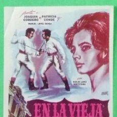 Cine: GUIA DE CINE - EN LA VIEJA CALIFORNIA - 1964- JOAQUIN CORDERO - 2 PAGINAS - BUENO - L 12. Lote 222927926