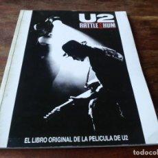 Cine: U2 RATTLE AND HUM - PHIL JOANOU - GUIA ORIGINAL ERISA 1988. Lote 222980760