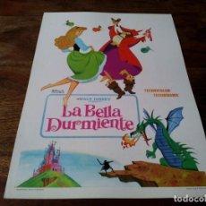 Cinema: LA BELLA DURMIENTE - ANIMACION - WALT DISNEY - GUIA ORIGINAL FILMAYER 1973. Lote 223630272