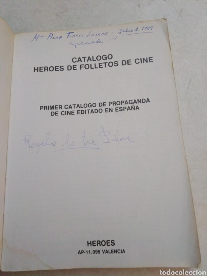 Cine: Catálogo héroes de folletos de cine - Foto 4 - 223762992