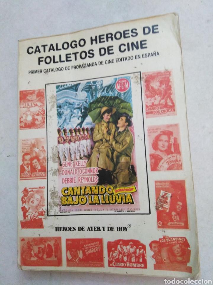 CATÁLOGO HÉROES DE FOLLETOS DE CINE (Cine - Guías Publicitarias de Películas )