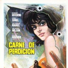 Cinema: CARNE DE PERDICION / ROBERT HOSSEIN - 1971. Lote 223832410