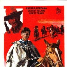 Cinema: JOHNNY EL VENGADOR / ANDREA GIORDANA - 1970. Lote 223832848