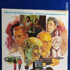 Cine: GUIA PUBLICITARIA: LOS PRESUNTOS. AÑO 1986. JOSÉ LUIS LÓPEZ VÁZQUEZ, JESÚS PUENTE, ANTONIO OZORES. Lote 223945755