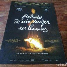 Cine: RETRATO DE UNA MUJER EN LLAMAS - NOÉMIE MERLANT, ADÈLE HAENEL - GUIA ORIGINAL KARMA 2020. Lote 239659285