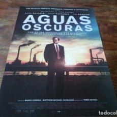 Cine: AGUAS OSCURAS - MARK RUFFALO, ANNE HATHAWAY, TIM ROBBINS - GUIA ORIGINAL EONE 2019. Lote 278969558