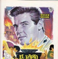 Cinema: EL RAPTO DE LAS SABINAS / ROGER MOORE - 1967. Lote 224202321