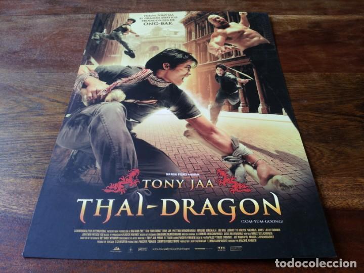 THAI DRAGON - TONY JAA, PETCHTAI WONGKAMLAO, XING JING - GUIA ORIGINAL MANGA 2005 (Cine - Guías Publicitarias de Películas )