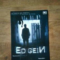 Cine: GUÍA PUBLICITARIA ED GEIN. Lote 225108410