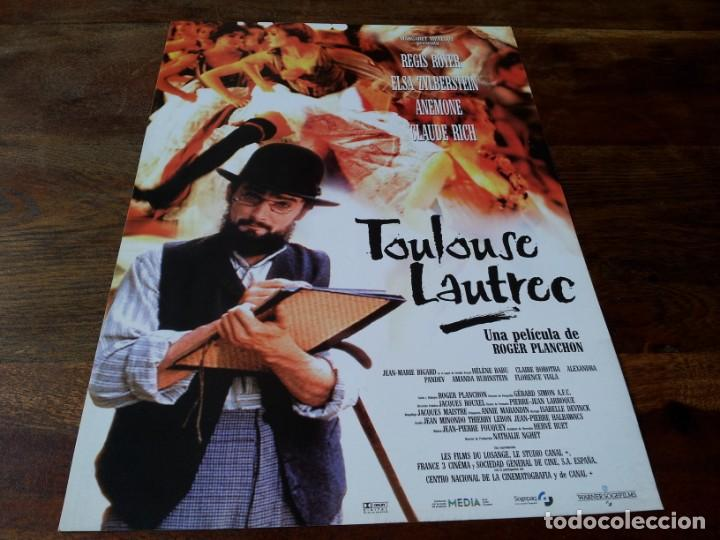 TOULOUSE-LAUTREC - RÉGIS ROYER, ELSA ZYLBERSTEIN, ANÉMONE - GUIA ORIGINAL WARNER 1998 (Cine - Guías Publicitarias de Películas )