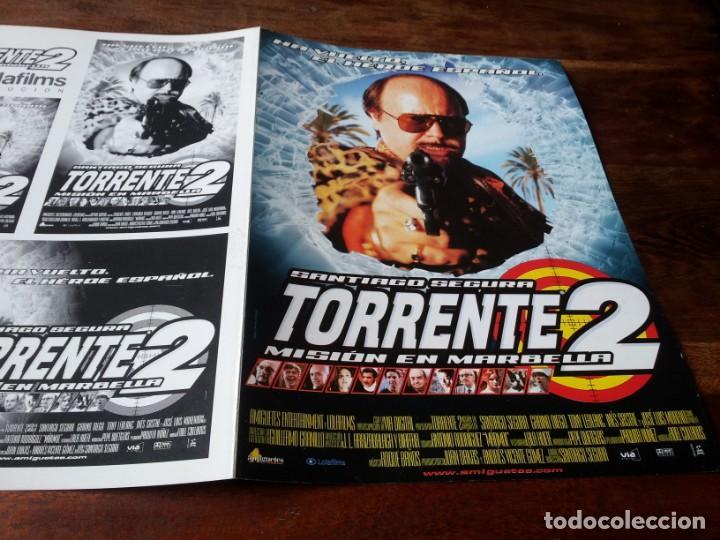 TORRENTE 2 MISIÓN EN MARBELLA - GABINO DIEGO,TONY LEBLANC,J.L. MORENO - GUIA ORIGINAL LOLAFILMS 2001 (Cine - Guías Publicitarias de Películas )