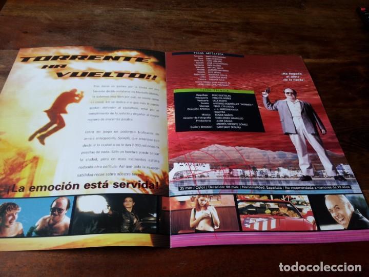 Cine: Torrente 2 Misión en Marbella - Gabino Diego,Tony Leblanc,j.l. moreno - guia original lolafilms 2001 - Foto 2 - 225191725