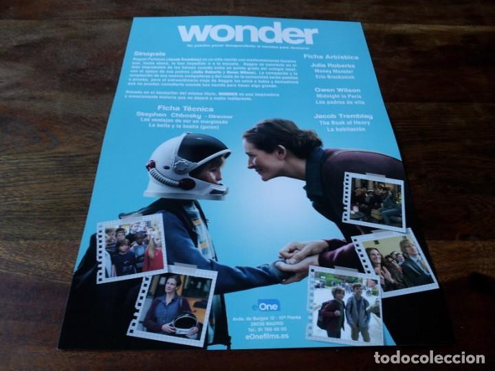 Cine: Wonder - Jacob Tremblay, Julia Roberts, Owen Wilson - guia original eone 2017 - Foto 2 - 225576990