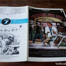 Cinéma: QUÉ HACE UNA CHICA COMO TÚ EN UN SITIO COMO ÉSTE? - CARMEN MAURA, COLOMO - GUIA ORIGINAL ARTE 7 1978. Lote 226088641