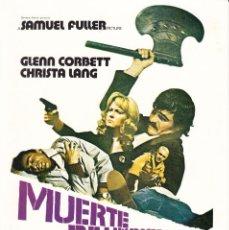Cinema: MUERTE DE UN PICHON / GLENN CORBETT - CHRISTA LANG - 1977. Lote 226089355