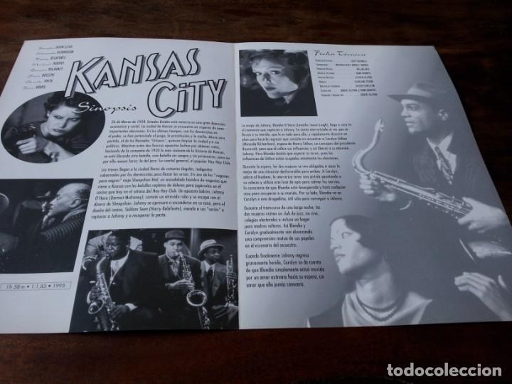 Cine: Kansas City - Jennifer Jason Leigh, Harry Belafonte, Miranda Richardson - guia original u.i.p 1996 - Foto 2 - 226116645