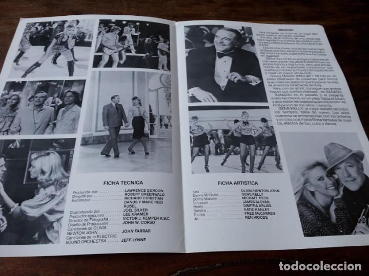 Cine: Xanadu - Olivia Newton-John, Gene Kelly, Michael Beck - guia original c.i.c 1980 - Foto 2 - 226118758
