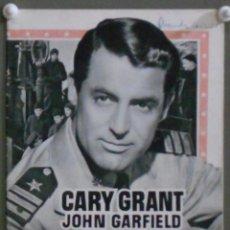 Cine: G6929D DESTINO TOKYO CARY GRANT JOHN GARFIELD GUIA ORIGINAL WARNER ESTRENO. Lote 226163815
