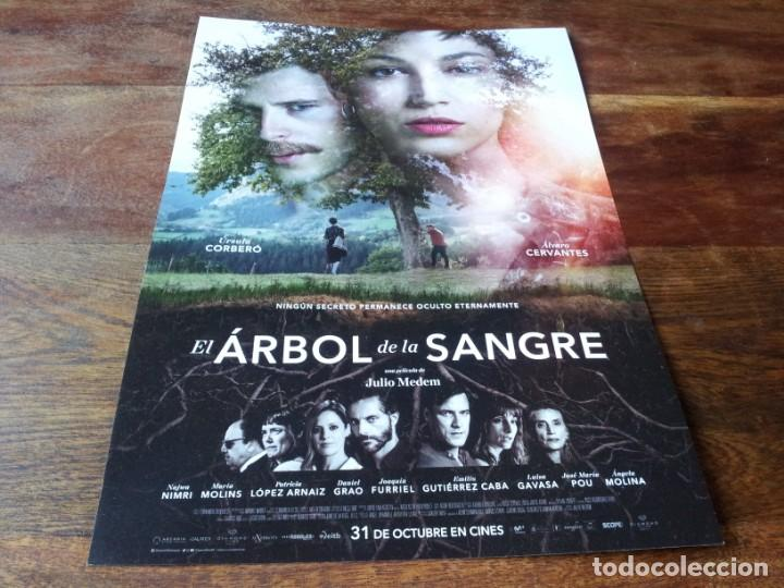 EL ÁRBOL DE LA SANGRE - ÚRSULA CORBERÓ, ÁLVARO CERVANTES, NAJWA NIMRI - GUIA ORIGINAL DIAMOND 2018 (Cine - Guías Publicitarias de Películas )