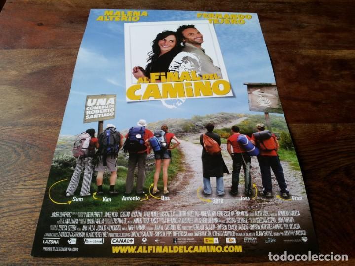 AL FINAL DEL CAMINO - FERNANDO TEJERO, MALENA ALTERIO, JAVIER GUTIÉRREZ - GUIA ORIGINAL WARNER 2009 (Cine - Guías Publicitarias de Películas )