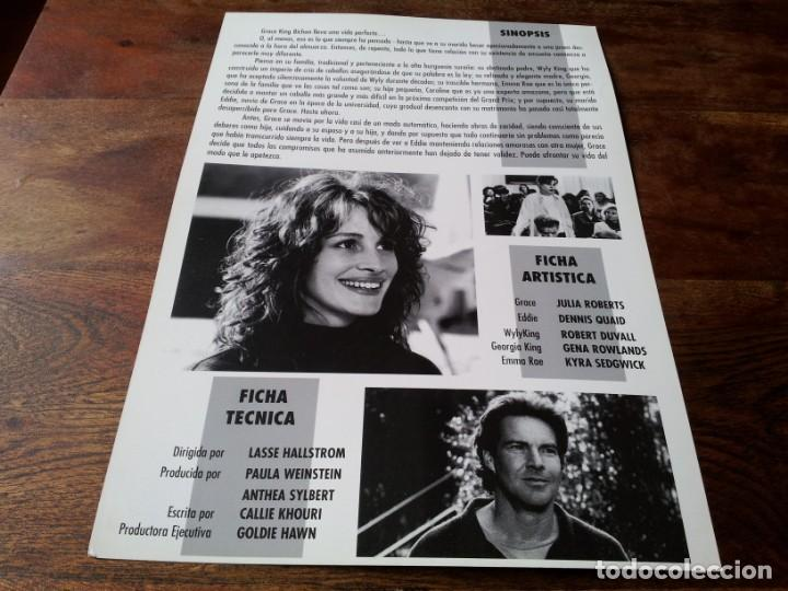 Cine: Algo de que hablar - Julia Roberts, Dennis Quaid, Robert Duvall - guia original warner 1995 - Foto 2 - 226910985