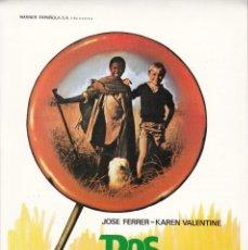 Cinema: DOS AMIGOS / JOSE FERRER - KAREN VALENTINE - 1978. Lote 227623840