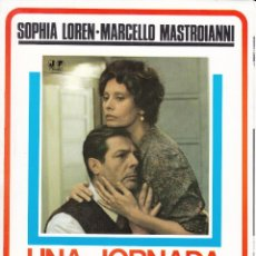 Cinema: UNA JORNADA PARTICULAR: SOPHIA LOREN - MARCELLO MASTROIANNI - 1977. Lote 230807060