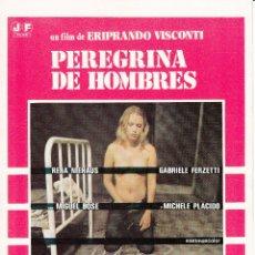 Cinema: PEREGRINA DE HOMBRES: RENA NIEHAUS - GABRIELE FERZATTI - MIGUEL BOSE - 1978. Lote 230957270