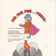 Cinema: PIM PAM PUM.... FUEGO: CONCHITA VELASCO - FERNANDO FERNAN GOMEZ - PEDRO OLEA - 1974. Lote 231177435