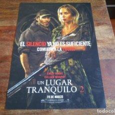 Cinéma: UN LUGAR TRANQUILO 2 - EMILY BLUNT, CILLIAN MURPHY, MILLICENT SIMMOND - GUIA ORIGINAL PARAMOUNT 2020. Lote 231523360