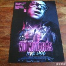 Cinema: NO MATARAS - MARIO CASAS, MILENA SMIT, JOAQUÍN CASERZA, VICTOR SOLE - GUIA ORIGINAL FILMAX 2020. Lote 231528075