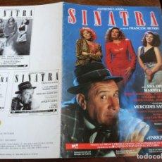 Cinema: SINATRA - ALFREDO LANDA, ANA OBREGÓN, MARIBEL VERDÚ, LUIS CIGES - GUIA ORIGINAL U.I.P AÑO 1988. Lote 231655000