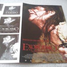 Cinéma: EL EXORCISMO DE EMILY ROSE - JENNIFER CARPENTER,LAURA LINNEY,TOM WILKINSON - GUIA ORIGINAL SONY 2005. Lote 231750050
