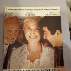 Cine: CARTEL CINE 33 X 24 CM - EL HIJO DE LA NOVIA. Lote 232186195