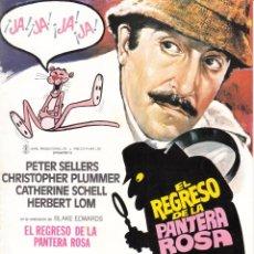 Cinema: EL REGRESO DE LA PANTERA ROSA: PETER SELLERS - CHRISTOPHER PLUMMERS - 1975. Lote 232668635
