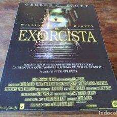 Cinéma: EL EXORCISTA III - GEORGE C. SCOTT, ED FLANDERS, BRAD DOURIF - GUIA ORIGINAL FOX 1990. Lote 232724610