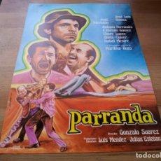 Cine: PARRANDA - JOSÉ LUIS GÓMEZ, JOSÉ SACRISTÁN, ANTONIO FERRANDIS,CHARO LÓPEZ - GUIA ORIGINAL LOTUS 1977. Lote 233012885