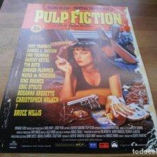 Cinéma: PULP FICTION - JOHN TRAVOLTA,SAMUEL L. JACKSON,UMA THURMAN, BRUCE WILLIS - GUIA ORIGINAL LAUREN 1994. Lote 233018580