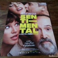 Cinema: SENTIMENTAL - JAVIER CÁMARA, GRISELDA SICILIANI, BELÉN CUESTA, CESC GAY - GUIA ORIGINAL FILMAX 2020. Lote 233160460
