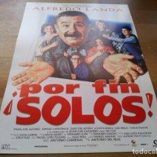 Cine: POR FIN SOLOS! - ALFREDO LANDA, AMPARO LARRAÑAGA, MARÍA JOSÉ ALFONSO - GUIA ORIGINAL COLUMBIA 1994. Lote 233381820